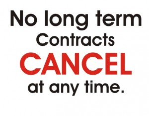 Cancel At Any Time