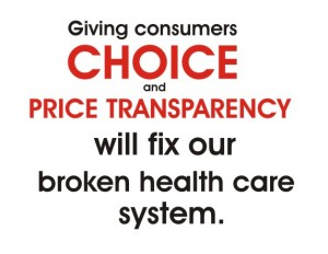 choice price transparncy fix healthcare